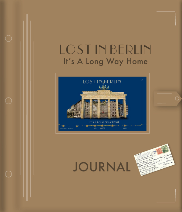 front cover of Lost In Berlin interactive digital Journal
